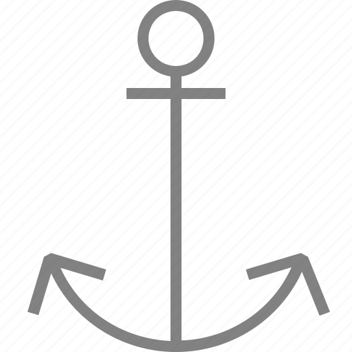 anchor, marine, sea, ship, shipping icon