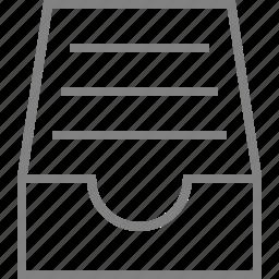 archive, basic, full, inbox, storage icon