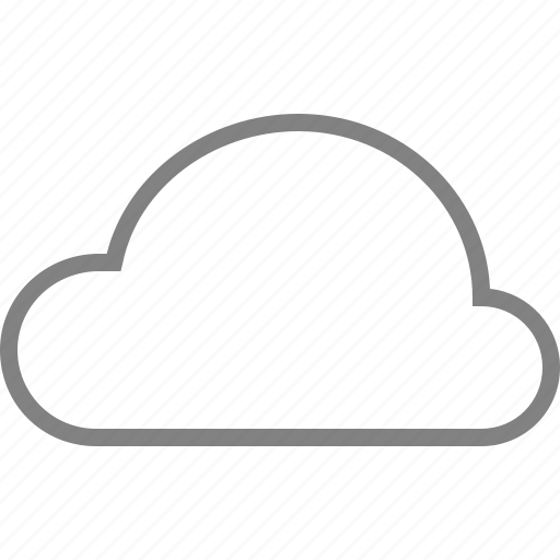 cloud, server, storage, weather icon