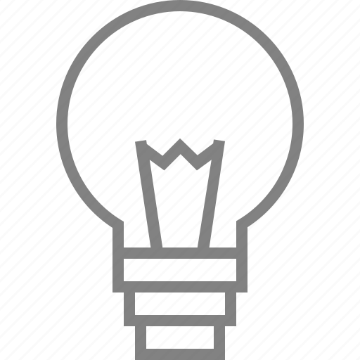 bulb, idea, lamp, light, lightbulb, lightning icon