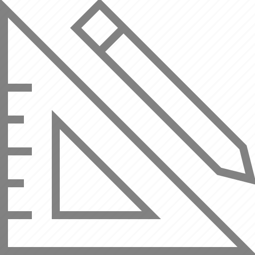 design, draw, drawing, edit, pen, pencil, ruler icon