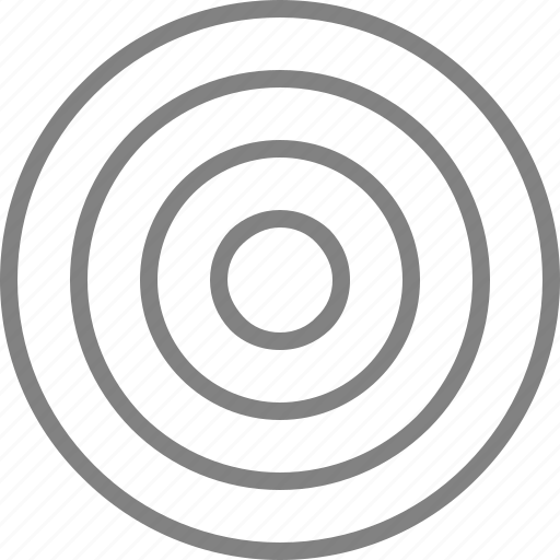 aim, bullseye, focus, goal, target, targeting icon