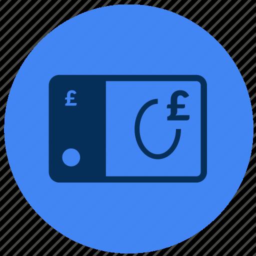 new, note, pound, £ icon