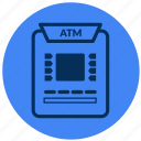 atm, bank, cash, machine icon
