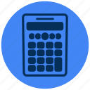 calculator, maths, scientific icon