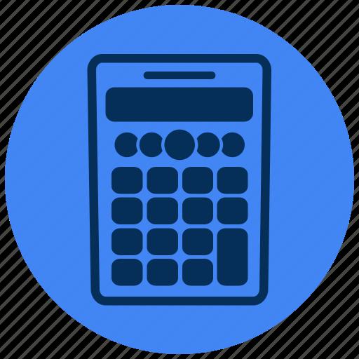 calculator, maths, scientific icon