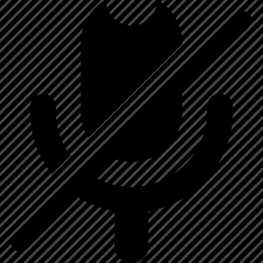 audio, media, microphone, music, mute, sound, volume icon