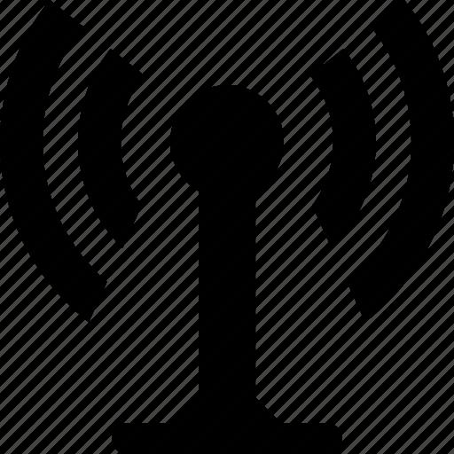 antenna, mobile, radio, router, technology, wifi, wireless icon