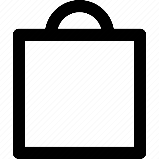 cart, paper, paper bag, shop, shopping icon