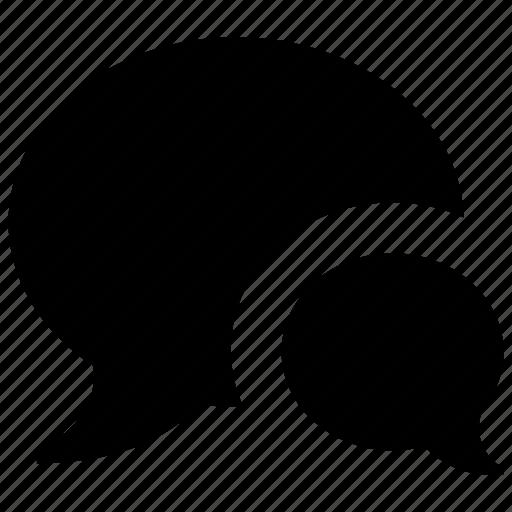 Chat, communication, message, bubble, talk icon
