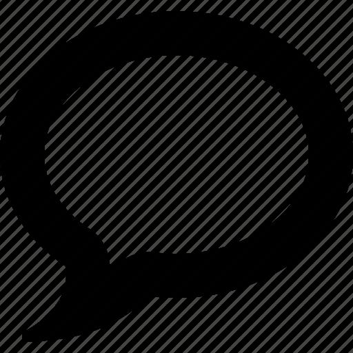 bubble, chat, communication, message, network, talk icon