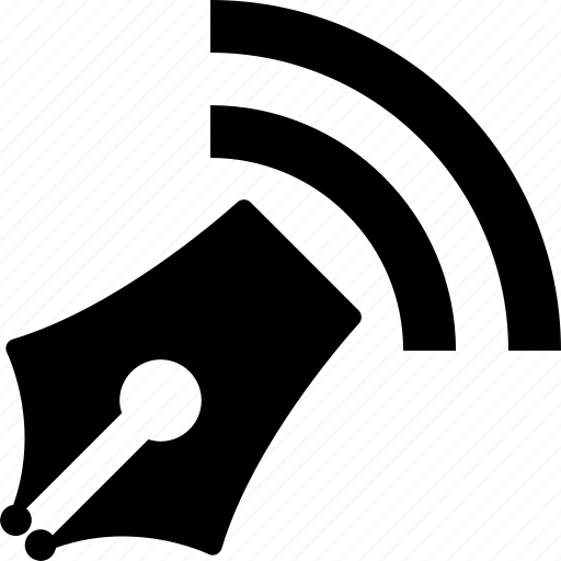 edit, internet, pen, pencil, wifi, wireless, write icon