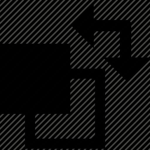 arrow, arrows, design, edit, exchange, swap, tool icon