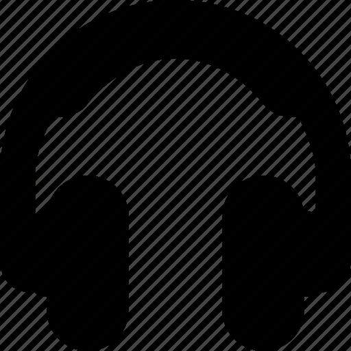 earphone, earphones, headphone, headphones, headset, sound icon