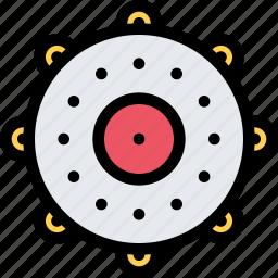 chukchi, civilization, culture, nation, tambourine icon