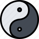 civilization, culture, indians, nation, yin yang icon