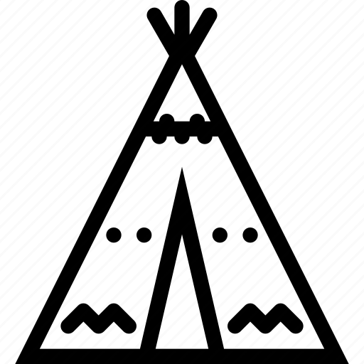 culture, history, indians, nation, wigwam icon