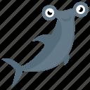 animal, cartoon whale, fish, mammal, sea life