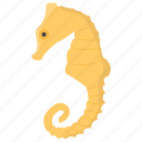fish, sea animal, sea life, seahorse, wild animal icon