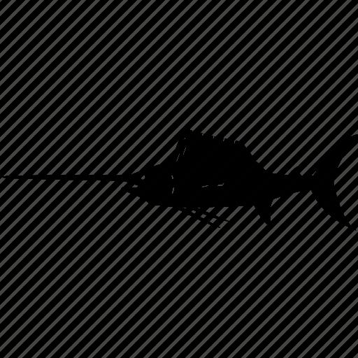 marlin, sailfish, sword fish, swordfish icon
