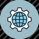 earth, globe, internet, network, new world order, planet, web icon