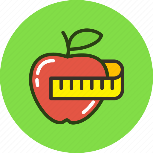 apple, fitness, health, healthy, lifestyle icon