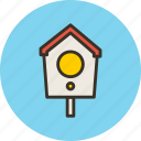 bird, box, home, nest, nesting icon