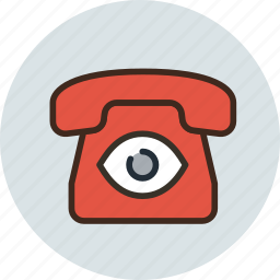 bigbrother, call, camera, communication, device, phone, spy icon