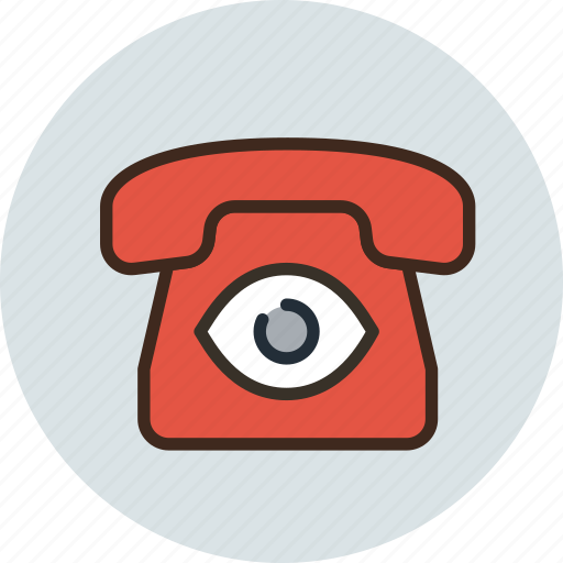 Bigbrother, call, camera, communication, device, phone, spy icon - Download on Iconfinder