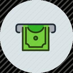 atm, cash, cashin, cashout, dollar, machine icon