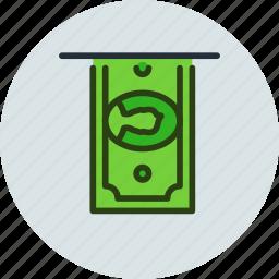 atm, cash, cashin, cashout, deposit, dollar, money icon