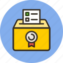 ballot, box, control, democracy, elections, politic, votes icon