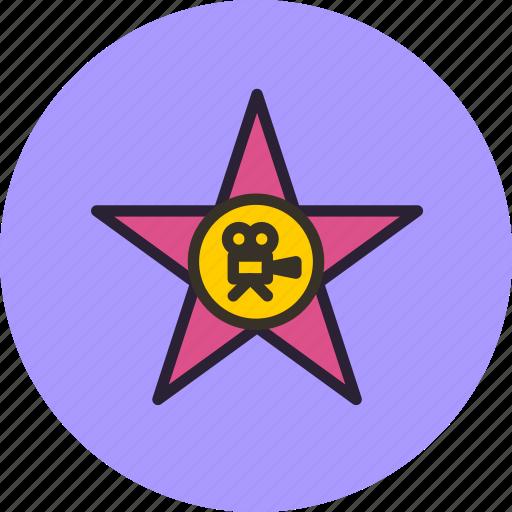 cinema, entertainment, hollywood, star, stars, theater icon