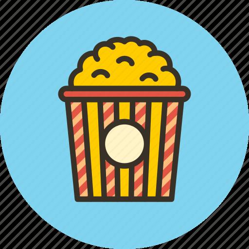 cinema, entertainment, hollywood, popcorn, show, theater icon