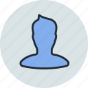 avatar, boy, man, profile, silhoette, user icon