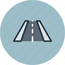 perspective, road, treadmill, trial, way icon
