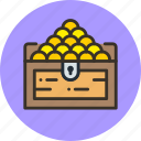 chest, money, treasure icon