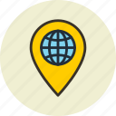 geo, global, location, planetary, solar, targeting, universe icon