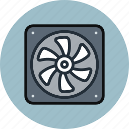blower, cooler, fan, processor, ventilator icon