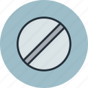 flat blade, helix, pin, screw, screwdriver icon