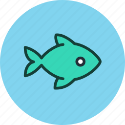 animal, fish, food, seafood icon