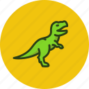 animal, coelurosaurs, dinosaur, predator, t-rex, tyrannosaur icon