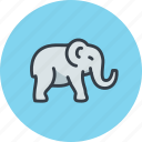 animal, bishop, elephant, indian, indian tea, mammal icon