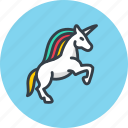 animal, fable, horse, icojam, magic, myth, unicorn, virgin icon