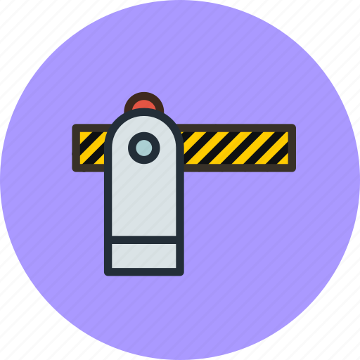 access, barrier, closed, denied, gate icon