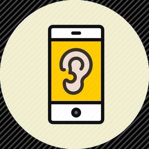 microphone, remote control, spy, trojan, virus, wiretapping icon