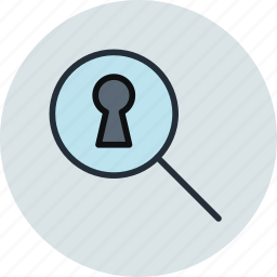 keyhole, porno, pry, search, secret, spy icon