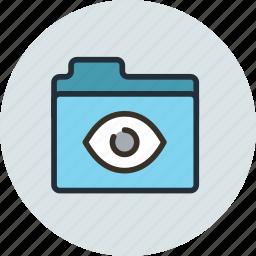bigbrother, folder, pry, remote control, secret, share, spy icon