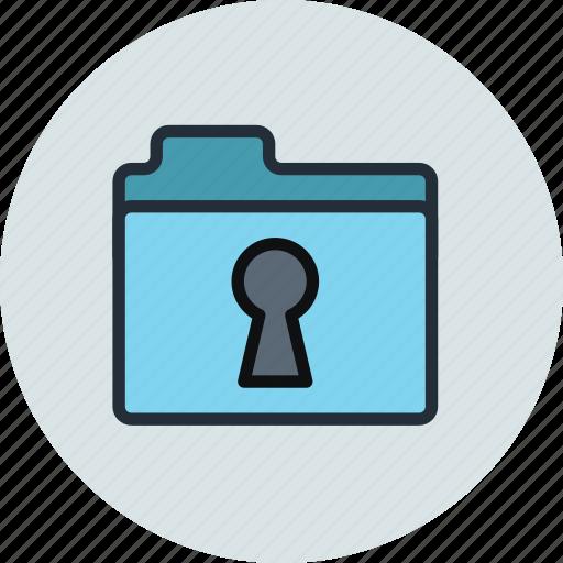access, erotic, folder, keyhole, pry, secret icon