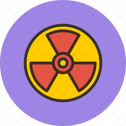atomic, danger, mass, nuclear, radiation, radioactivity, weapon icon